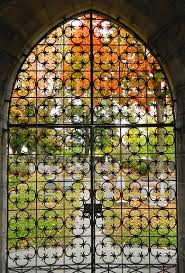 stained glass designs for doors free images fall window foliage arch autumn church gate