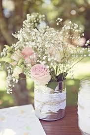 d coration mariage vintage décoration mariage conserve dentelle ficelle idée centre de
