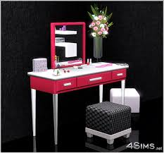 Jewelry Vanity Table Modern Vanity Set 4sims Custom Vanity That Doubles As A Desk