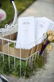 basket for wedding programs 41 best programs and vintage holders images on wedding