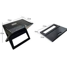 foldable mini bbq grill include charcoal plate portable balcony