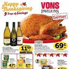 vons weekly ad november 18 through tuesday november 26 2015