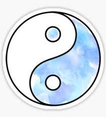 yin yang stickers redbubble