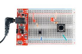 how to use a breadboard learn sparkfun com