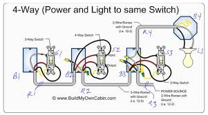 4 way light switch wiring diagram how to install youtube within