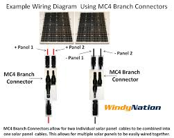 mc4 t branch connector cable splitter coupler for solar panel