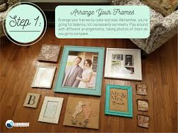 Gallery Wall Frames by How To Plan And Hang A Gallery Wall