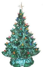 ceramic christmas tree ceramic light kits