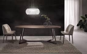 tavolo ovale legno tavolo moderno in legno ovale cover pacini cappellini