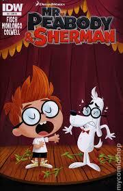 peabody sherman 2013 idw comic books