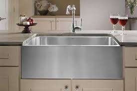 Stainless Steel Farm Sinks For Kitchens Blanco Quatrus R15 Apron Front Kitchen Sink Blanco Throughout