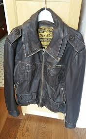 superdry brown leather jacket brad large mens superdry limited brown superdry coats superdry dresses official authorized
