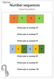 printable number sequence worksheets 105 pages number sequences 1