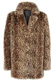 Leopard Print Faux Fur Throw Leopard Print Faux Fur Coat Bhs