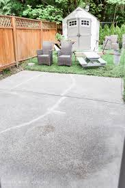 paint for patio how to paint stripes like an outdoor rug on patio concrete slab