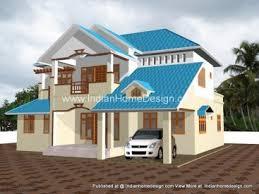 Home Design 3d Premium Premium Luxury Villa Rear Side 3d View Home Design Ideas