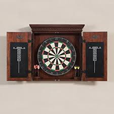 Dart Board Cabinet Plans Amazon Com American Heritage Billiards Cavalier Dart Board