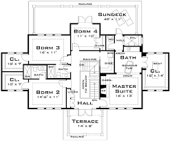 large family floor plans for the large family 44040td architectural designs house plans