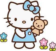 rainbow clipart hello kitty pencil and in color rainbow clipart