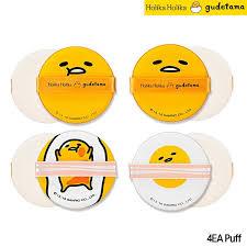 Cushion Sponge Material Amazon Com Holika Holika Gudetama Lazy U0026amp Easy Chap Chap