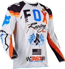 orange motocross gear 2017 fox racing 360 rohr jersey mx motocross off road atv dirt