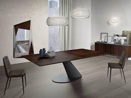 table extensible à manger rectangulaire en bois thor ozzio