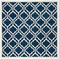 Square Indoor Outdoor Rugs Trellis Square Outdoor Rugs Rugs The Home Depot