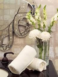 Glam Bathroom Ideas Glam Hollywood Style Powder Room Shelley Rodner Hgtv Bathroom