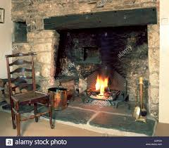 inside fireplace binhminh decoration