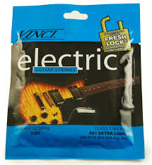 light electric guitar strings vinci 461 extra light electric guitar strings keymusic