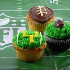 football cupcakes day sweet package 6 each kenzie kakes