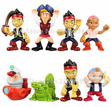 jake neverland pirates pvc figure 8 jake izzy cubby