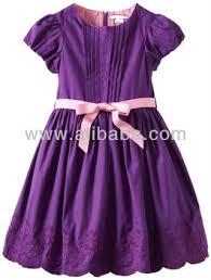 very beautiful new styles girls dress very nice purple embroidery