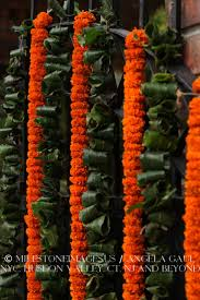 27 best diwali home decor images on pinterest diwali entrance orange marigold garlands traditional indian wedding flowers