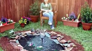 interesting building a small backyard pond photo decoration
