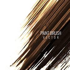 brown paint brown paint brush background vector free download