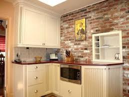 kitchen brick backsplash country kitchen brick backsplash apoc by distinctive