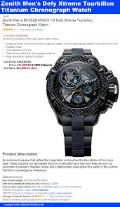 amazon best sellers best mens watches hilarious zenith watch reviews jewelry secrets