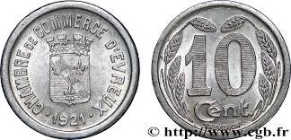 chambre de commerce d evreux 10 centimes evreux fnc 237213 nécessité