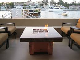 hton bay fire pit table natural gas or propane outdoor fire tables with aquatic glassel fire