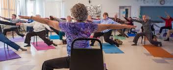Armchair Yoga For Seniors Classes Centered Seniors
