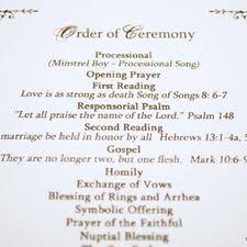 wedding ceremony processional how to make a personal wedding ceremony booklet 11 steps