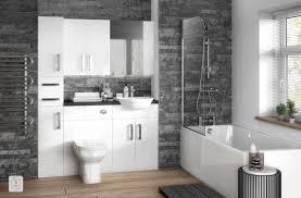 gloss white hudson reed bathroom furniture bathrooms