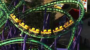 Six Flags In Usa 24 People Rescued From Roller Coaster Stuck At Six Flags Nbc4