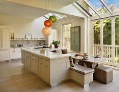 kitchen with islands designs kitchen island with l shaped dining banquette houses
