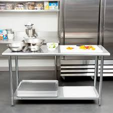 Stainless Kitchen Work Table by Gauge Economy 24