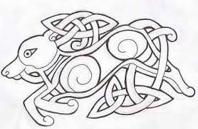 celtic wolf by greenheethar on deviantart