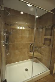 Installing Tile Shower Pan Fiberglass Shower Pan Tile Walls Can You Install Flattering
