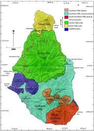 St Lucia Island Map Visiting Montserrat U0027s Soufrière Hills Volcano Caribbean U0026 Co