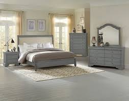 Harmony Platform Bedroom Set French Market Upholstered Bedroom Set Zinc Vaughan Bassett